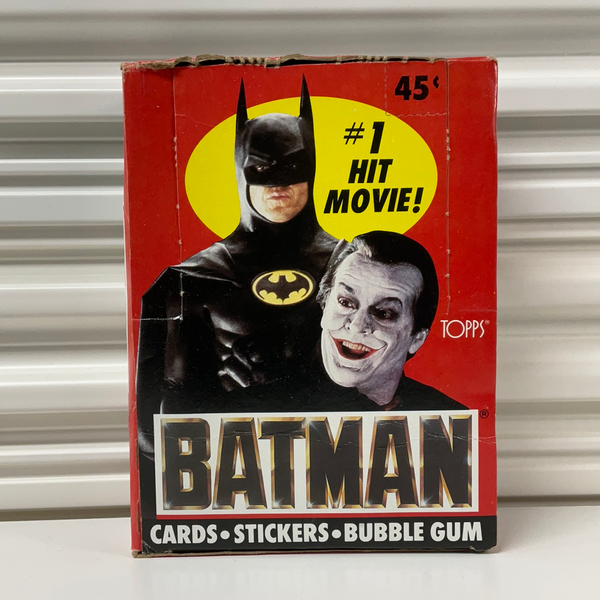 Topps Vintage 1989 Batman/Joker Cards, Stickers and Bubble Gum