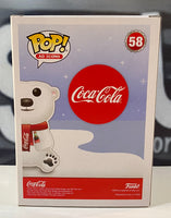Funko Pop! Ad Icons: Coca-Cola - Coca-Cola Polar Bear #58