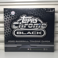 2020 Topps Chrome Black Baseball Hobby Box