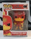 Funko Pop! Television: The Simpsons - Radioactive Man #496