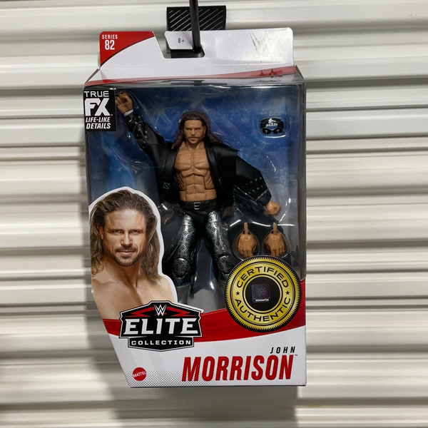 John Morrison WWE Elite series 82