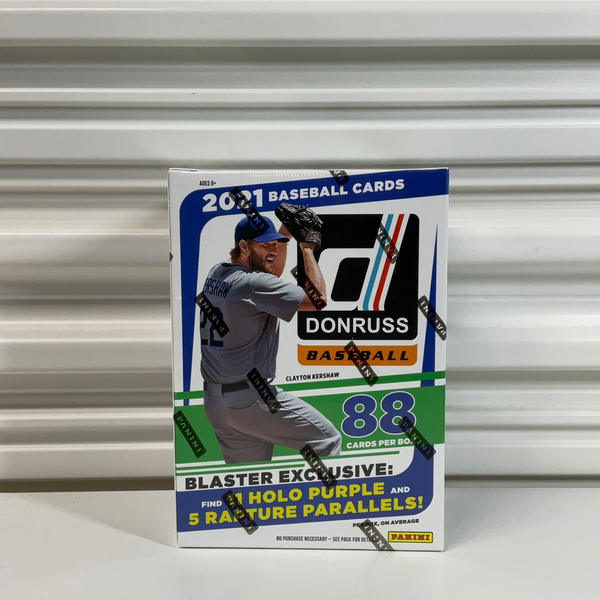 2021 Panini Donruss Baseball 11 Pack Blaster Box