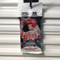 2018 Topps Baseball Series 1 Retail Rack Pack