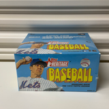 2021 Topps Heritage Baseball 24 Pack Retail Box