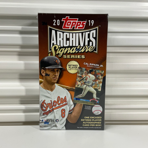 2019 Topps Archives Signature Series Retired Player Edition