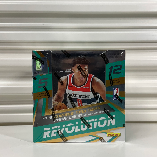 2019-20 Panini Revolution Basketball Chinese New Year Box