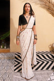 Cherry Sari and vintage crop