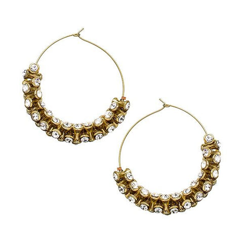 Bohemian Hoop Earrings - Ready To Ship