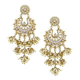 Suha Earrings in Pearl