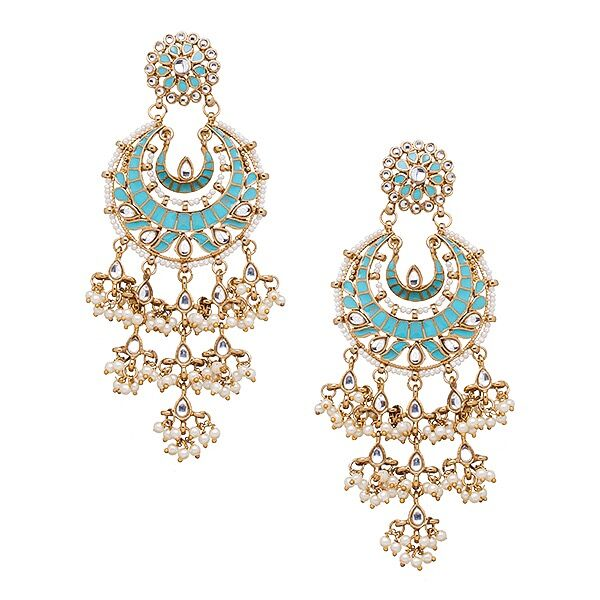 Suha Earrings in Turquoise