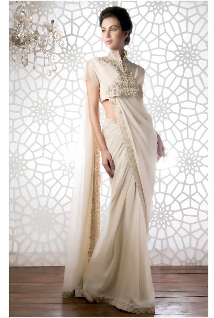 The Framed Glory Sari