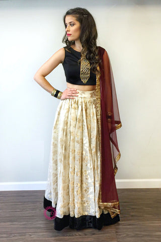 Flutter Lehenga - Ready To Ship