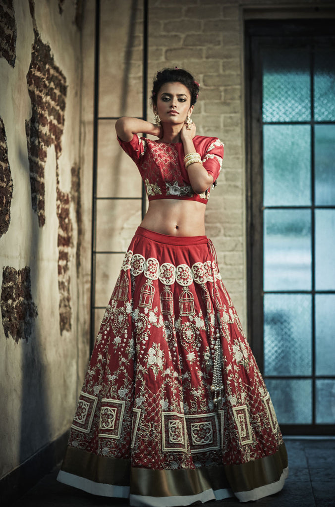 The Moroccan Bridal Lehenga