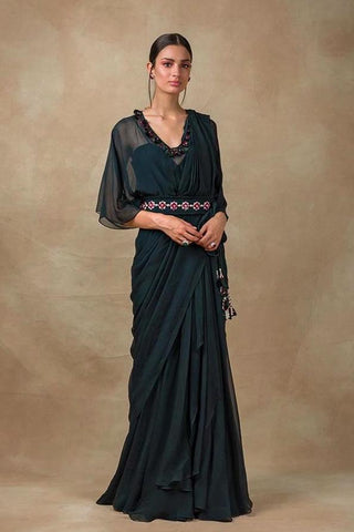 Dripping Pearl Sari
