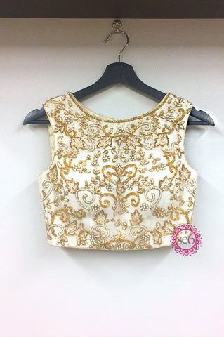 Farah Embroidered Blouse