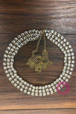 Mini Gatsby Pearly Necklace  - Ready to Ship