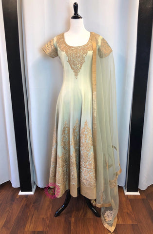 Blooming Tales Drape Anarkali - Ready To Ship