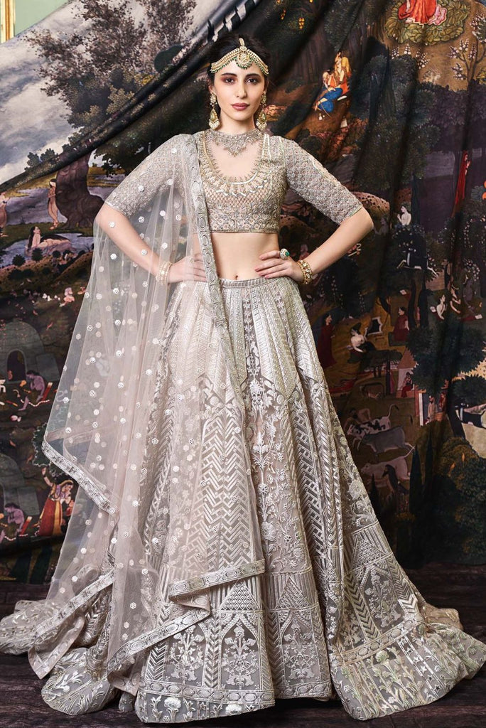 The Demi Lehenga