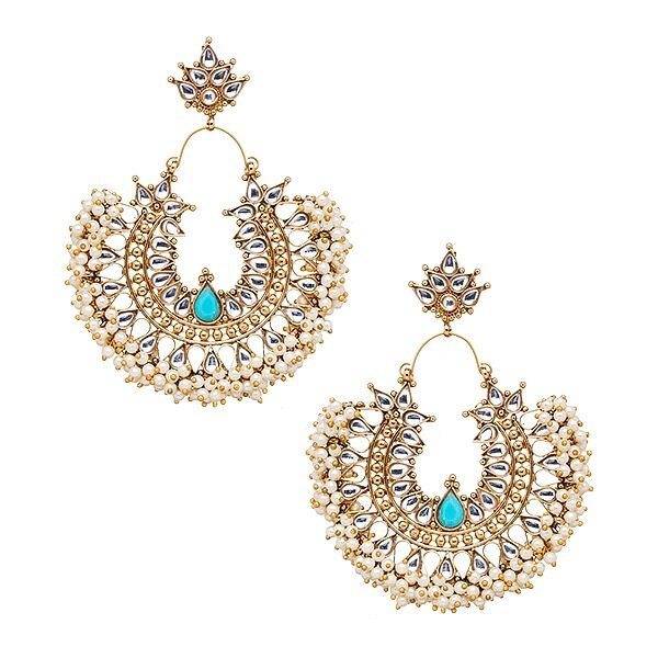 Gatsby Earrings in Turquoise