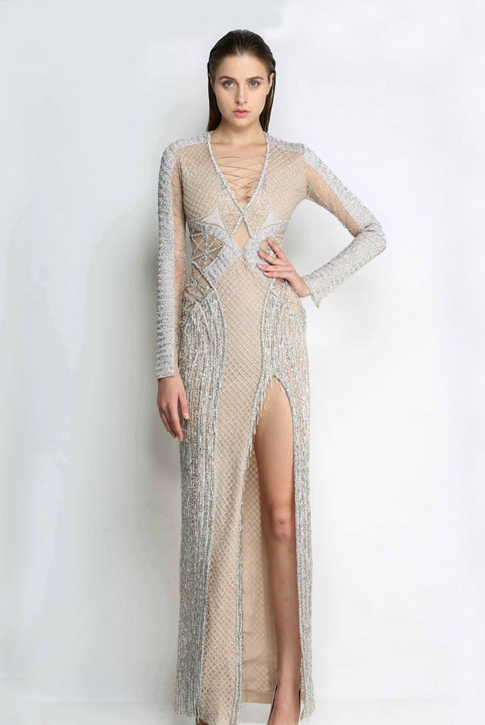 The Zebia Evening Gown
