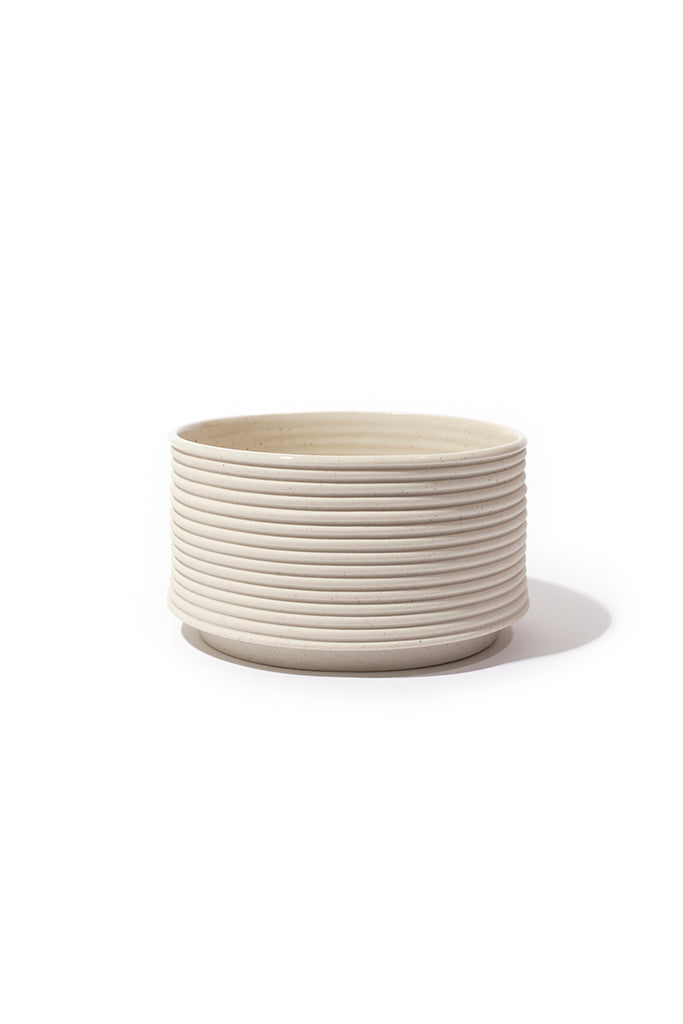 Andrew Molleur Natural Ribbed Planter