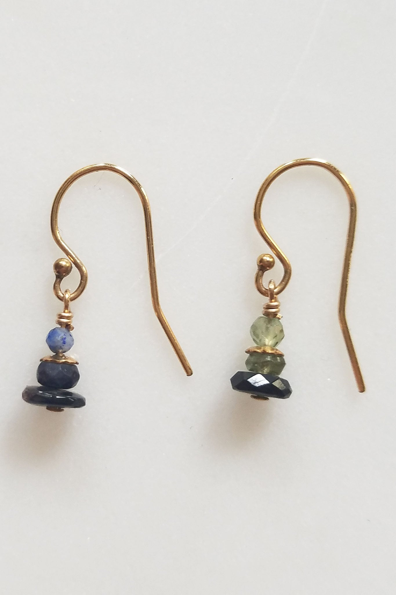 Cobamae - Blue on Blue Earrings
