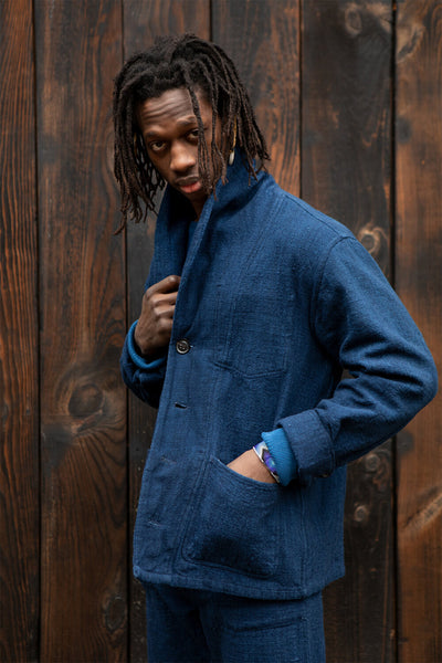 Indi Core Coat - Dark Indigo