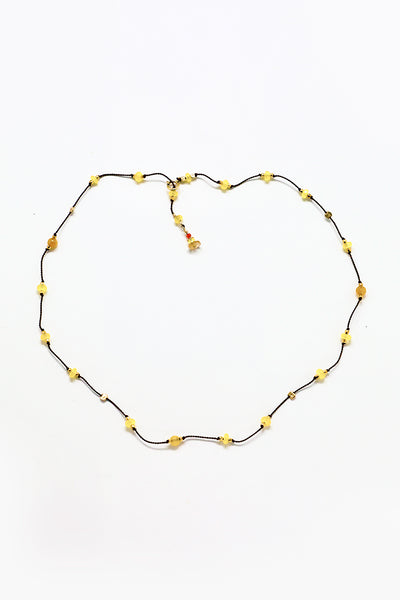Cobamae - Yellow Jade Necklace