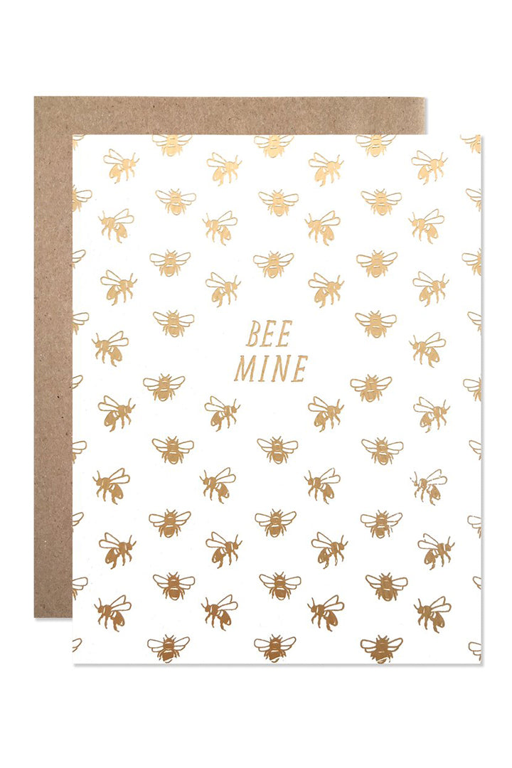 Hartland Bee Mine Valentine Card