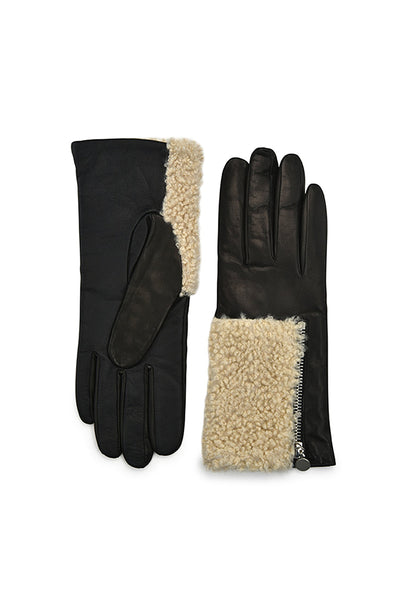 Amato Touch Tech Glove - Black/Natural