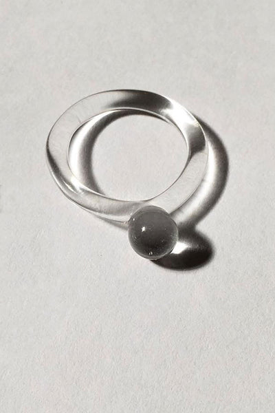 Jane D'Arensbourg Glass Dot Ring