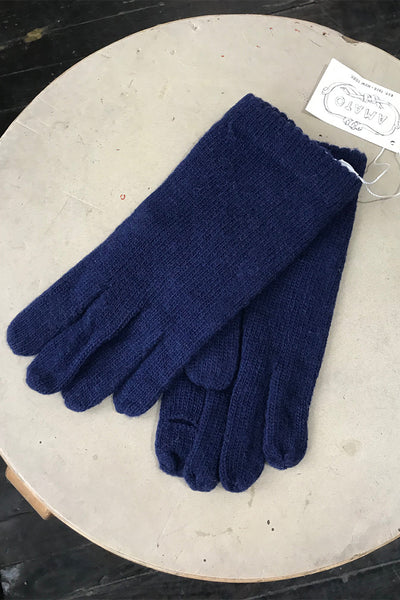 Amato Classic Knit Glove - Navy