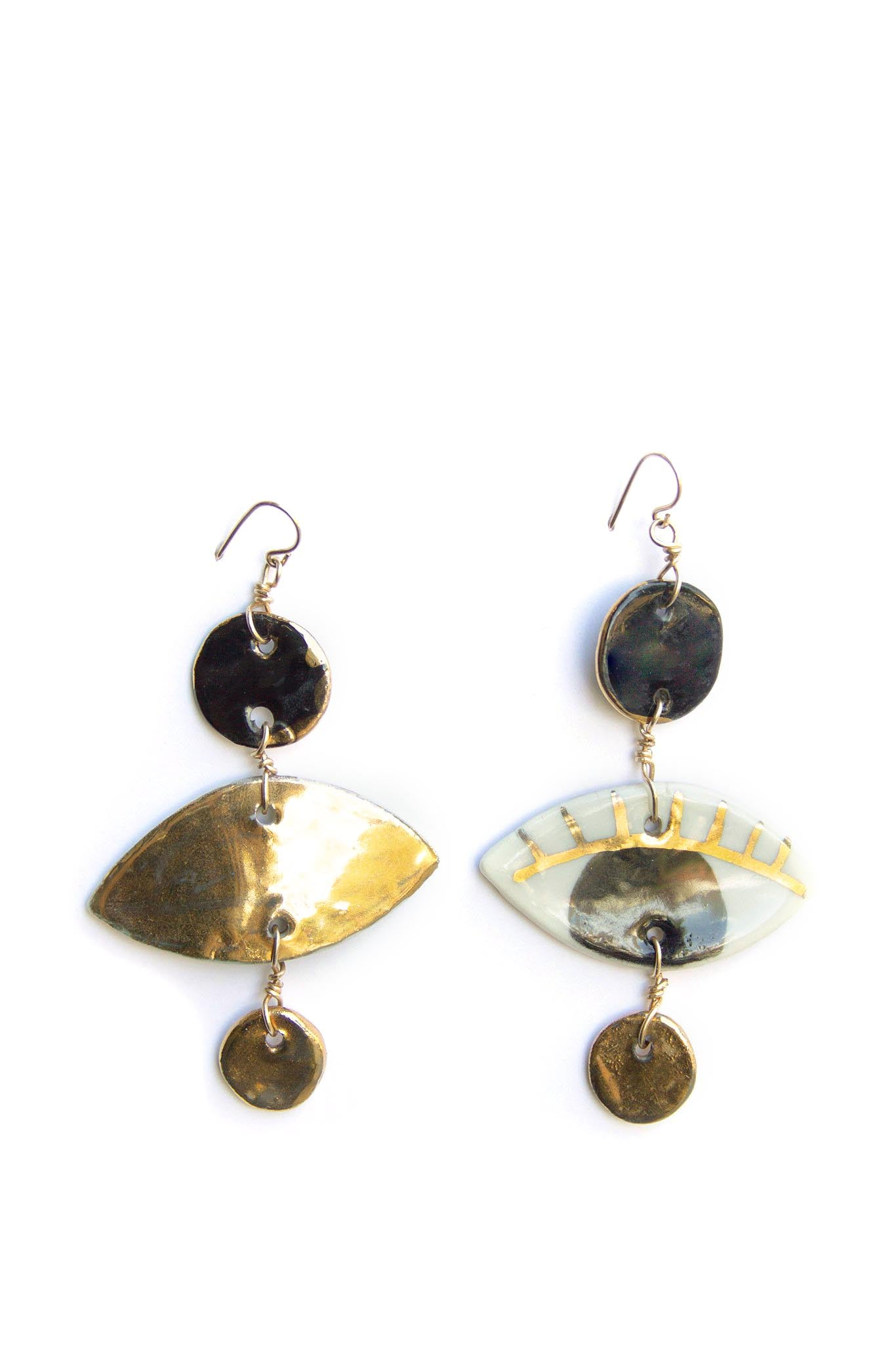 Ippolita Ferrari Dotted Occhi Earrings - Black
