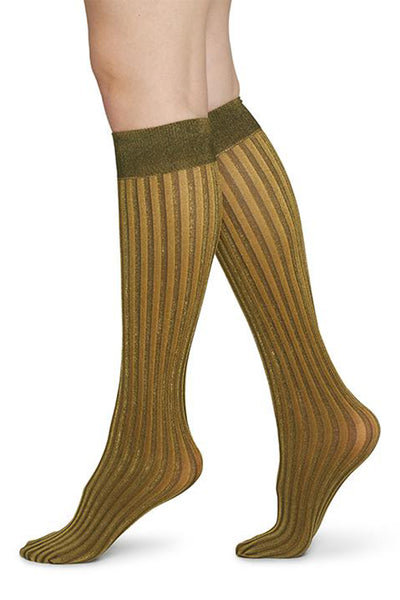 Swedish Stockings Hilda Gold Knee High