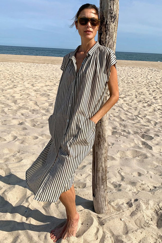 TWO NEW YORK STRIPE DRESS - STRIPE