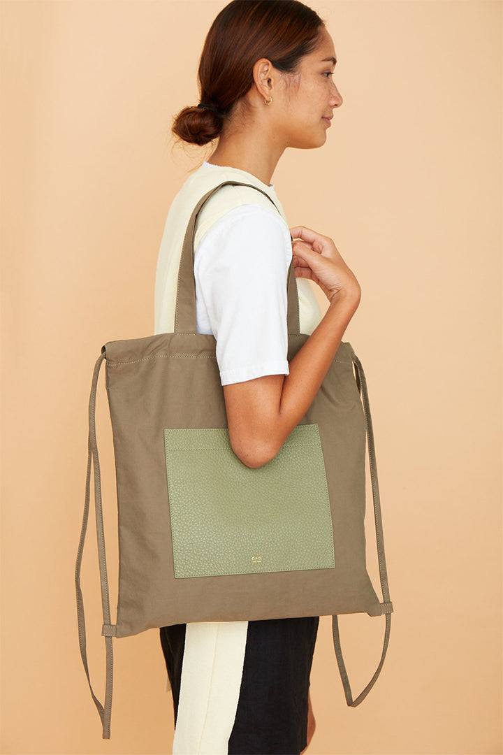 OAD Marlow Backpack Tote - Olive