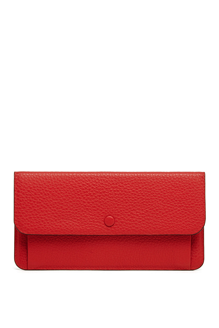 OAD Slim Wallet Clutch - Classic Red
