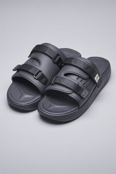 Suicoke Urich Slide - Black - LAST PAIR