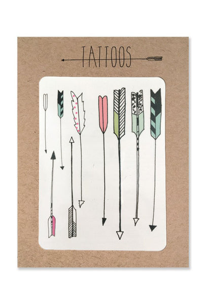 Hartland Brooklyn Arrow Temp Tattoos