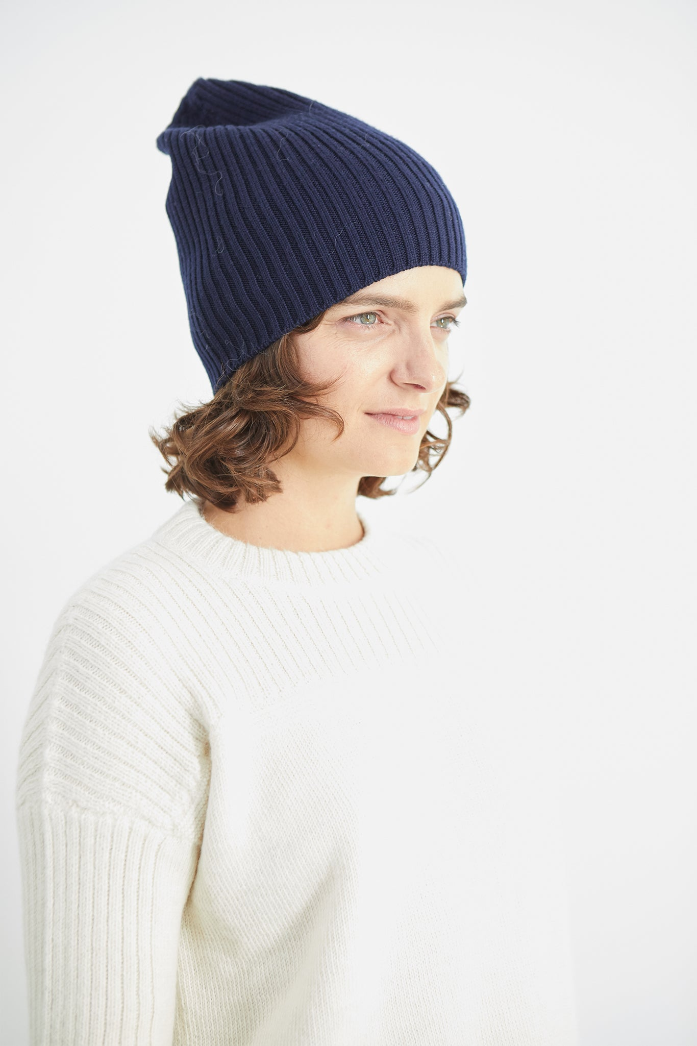 Atlantic Ribbed Merino Beanie