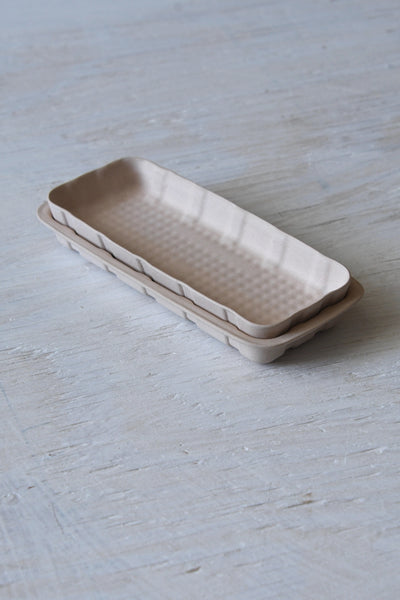 Unglazed Pete Nesting Tray