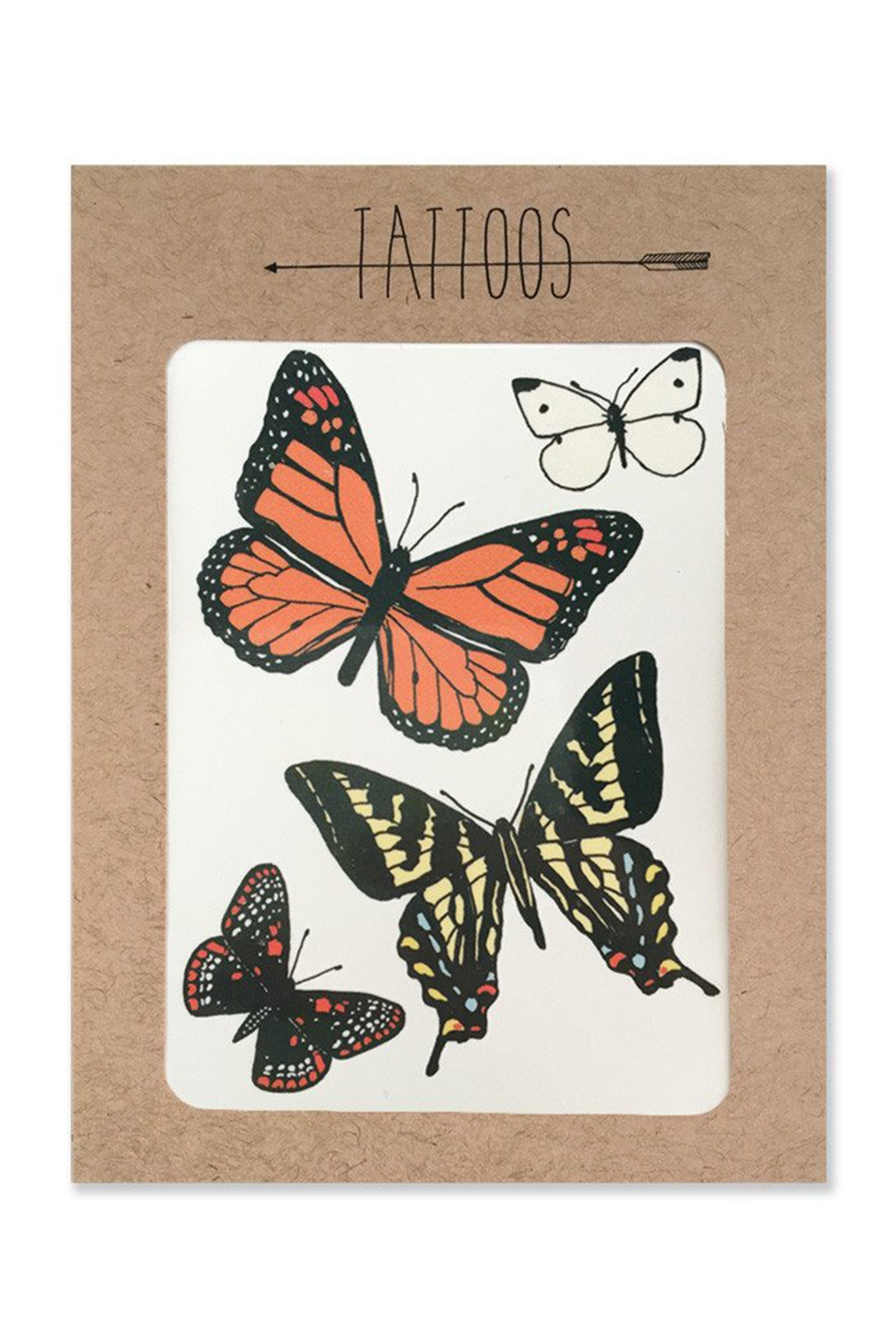 Hartland Brooklyn Butterfly Temp Tattoos