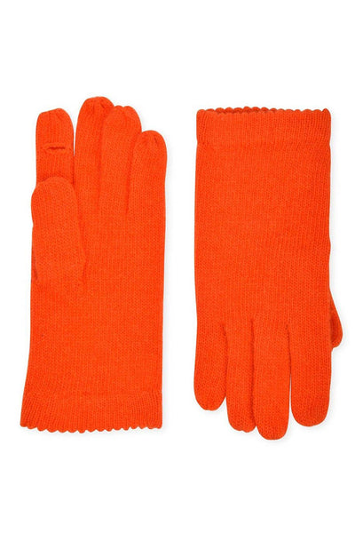 Amato Classic Knit Glove - Orange