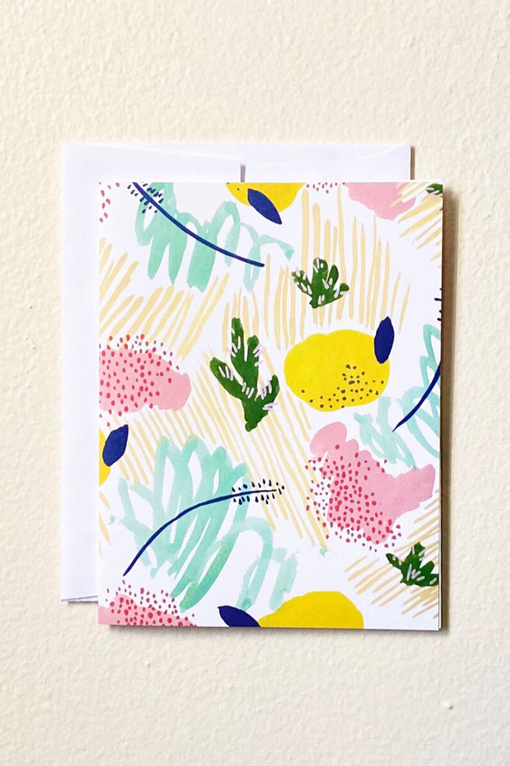 Llubav Cacti Lemonade Notecard Set