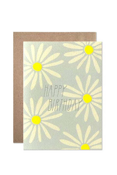 Hartland Brooklyn Daisy Birthday Card