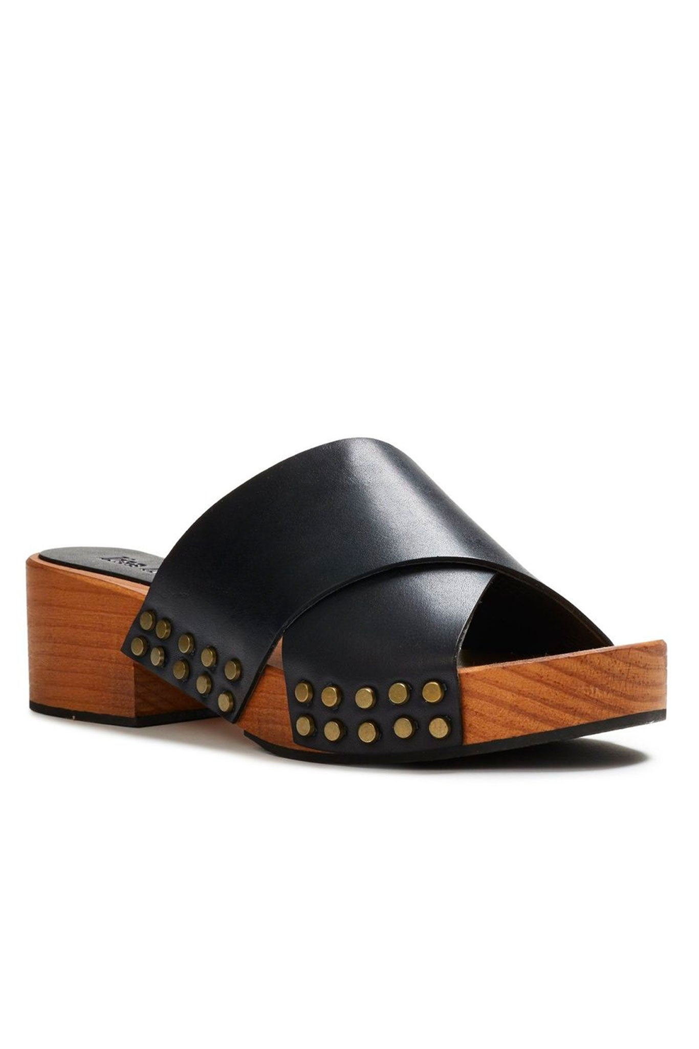 lisa b. Criss Cross Sandal - Black