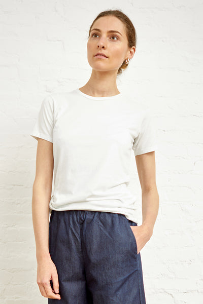 Relaxed Crew Tee - White