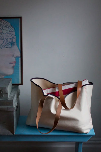 Susannah Thompson Market Bag w/ Leather