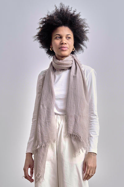 Harvey Cashmere Scarf - Toffee