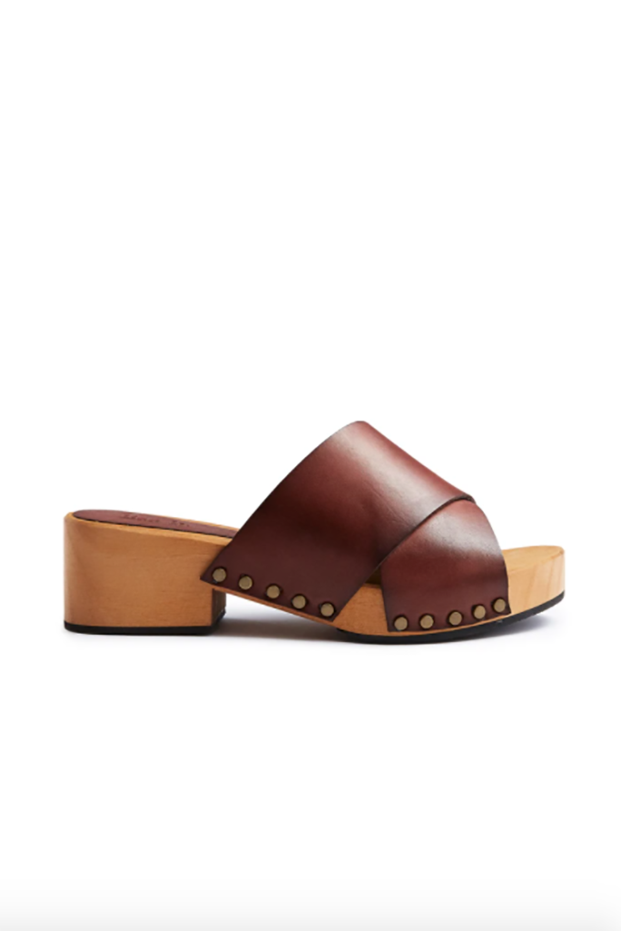 lisa b. Criss Cross Sandal - Acorn